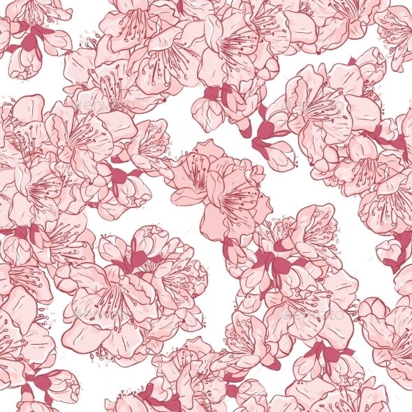 GraphicRiver Cherry Blossom 11033355