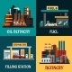 Fuel and Refinery - GraphicRiver Item for Sale