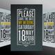 Wedding Invitation #3 - GraphicRiver Item for Sale