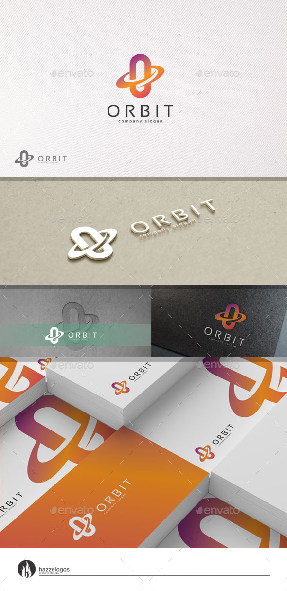 GraphicRiver Orbit Logo 11034491