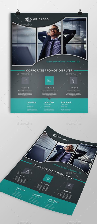 GraphicRiver Corporate Flyer 11034501