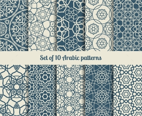 GraphicRiver Arabic Patterns 11034922