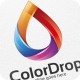 Color Drop / Droplet - Logo Template - GraphicRiver Item for Sale