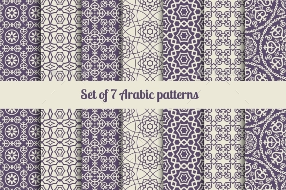 GraphicRiver Arabic Patterns 11034940