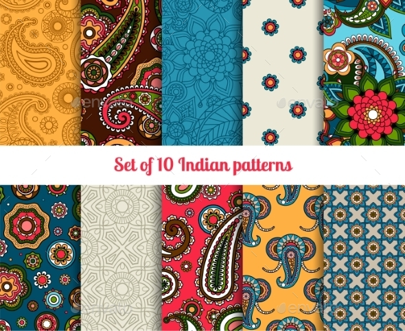 GraphicRiver Indian Pattern 11034976
