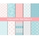 Pink and Blue Patterns  - GraphicRiver Item for Sale