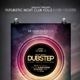 Futuristic Night Club Flyer / Poster Vol 2 - GraphicRiver Item for Sale