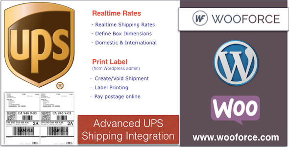 CodeCanyon UPS WooCommerce Shipping with Print Label 11035787