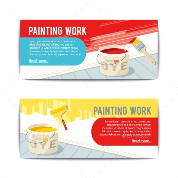 Cartoon spray painting work stock for How does spray paint work