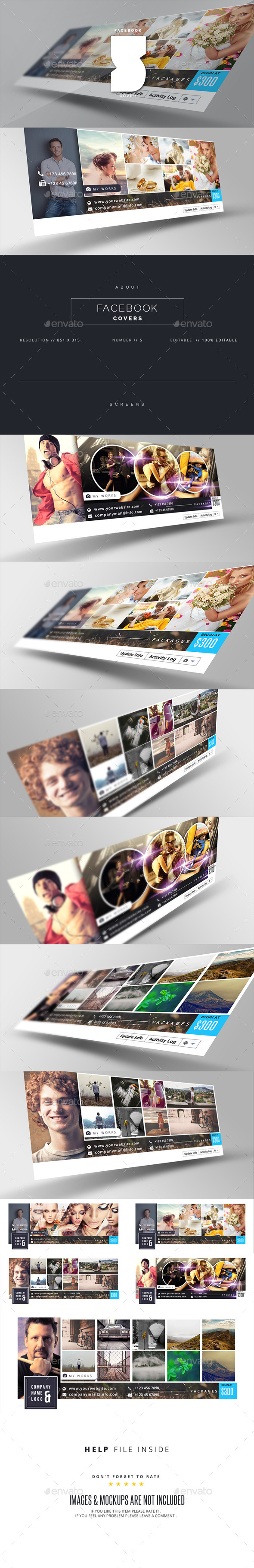 GraphicRiver Facebook Timeline Cover 11035845