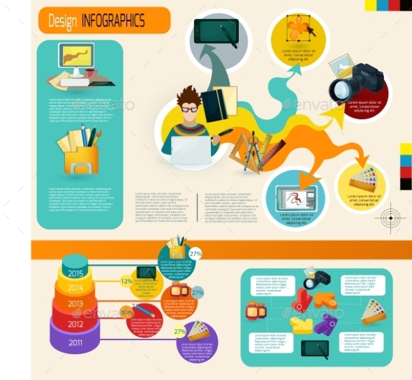 GraphicRiver Design Infographics Set 11035964