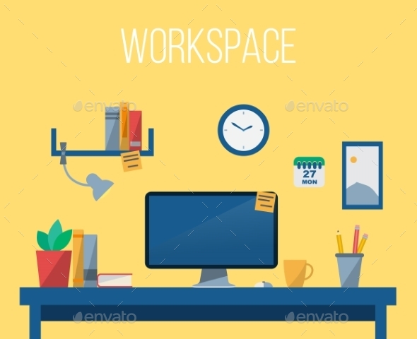 GraphicRiver Workspace 11035975