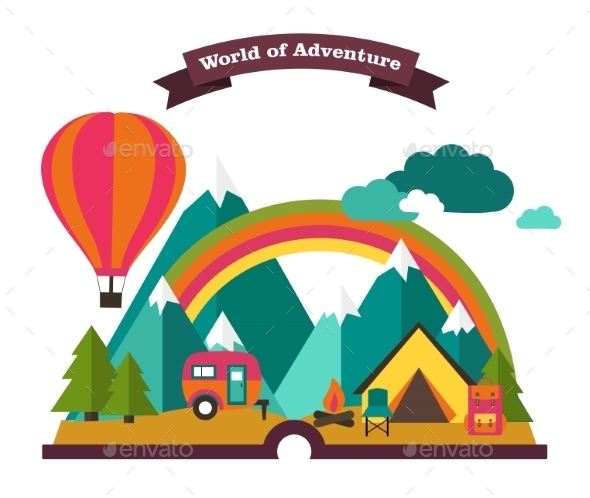 GraphicRiver Adventure 11035978