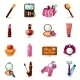 Cosmetics Icons Set - GraphicRiver Item for Sale