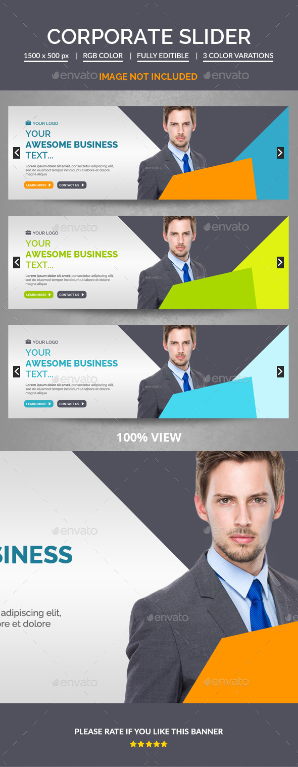 GraphicRiver Corporate Slider 11036457