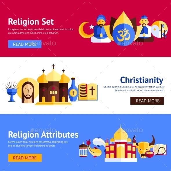GraphicRiver Religion Banner Set 11036512