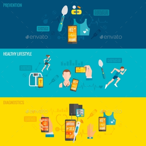 GraphicRiver Digital Health Banner 11036554