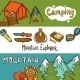 Camping Horizontal Banners  - GraphicRiver Item for Sale