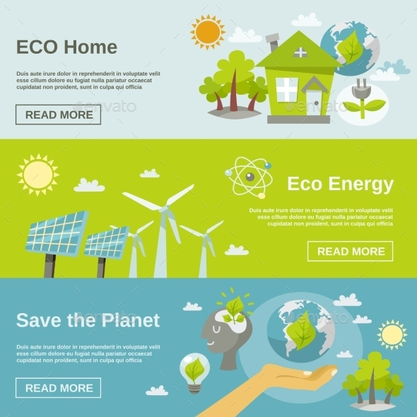 GraphicRiver Eco Energy Banner 11036617