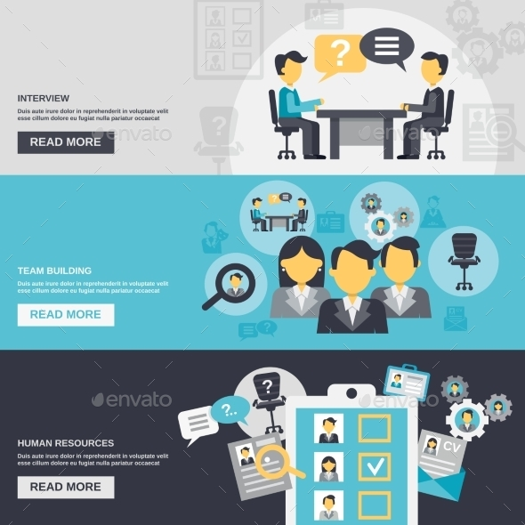 GraphicRiver Human Resources Banner 11036627