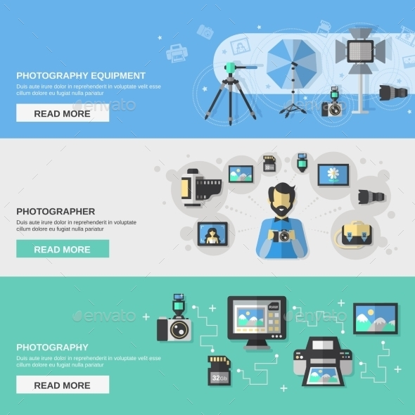 GraphicRiver Photography Banner Set 11036628