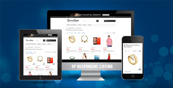 CodeCanyon SP Responsive Listing Prestashop Module 11037142