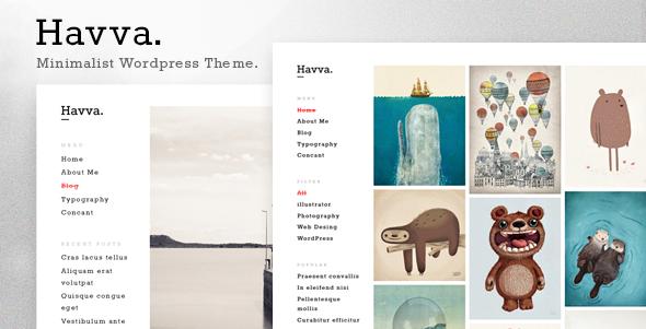 Havva - Portfolio for Freelancers & Agencies