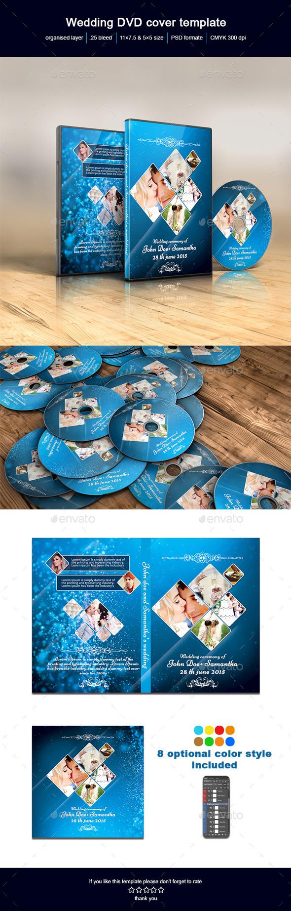 GraphicRiver Wedding DVD Cover 11037376