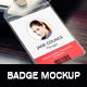 Lanyard/Badge Mockup - GraphicRiver Item for Sale