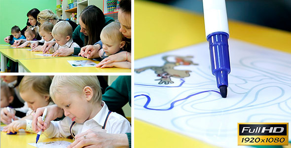 VideoHive Children Are Engaged In Early Development 1 11037701