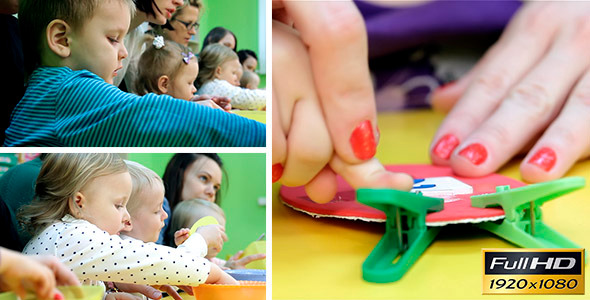 VideoHive Children Are Engaged In Early Development 2 11037727