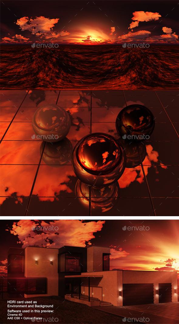 3DOcean Sunset Desert 4 11037736