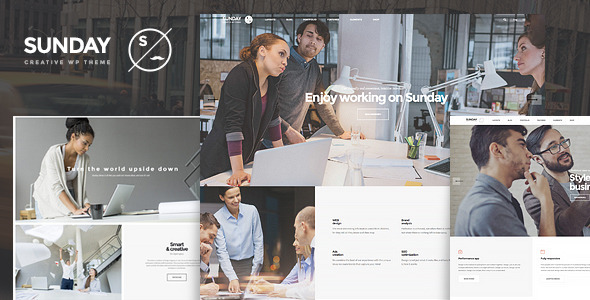 ThemeForest Sunday Highly Functional Multifaceted WP Theme 10983611