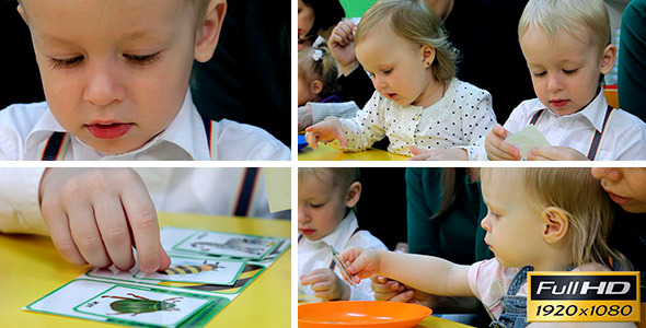 VideoHive Children Are Engaged In Early Development 4 11037844