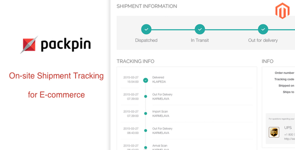 CodeCanyon On-site shipment tracking for Magento 10980524