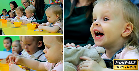 VideoHive Children Are Engaged In Early Development 5 11037877