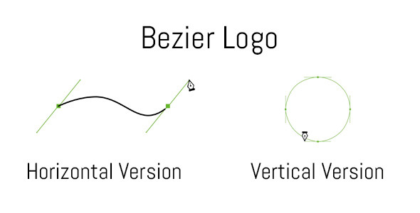Clean Short Bezier Logo
