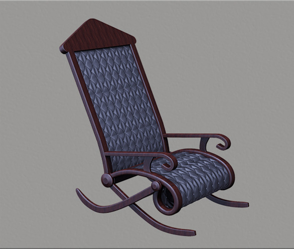 3DOcean 3D Rocking Chair 11037974