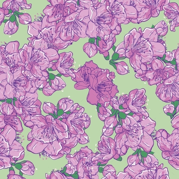 GraphicRiver Sakura Background 11038033
