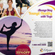 Simple Yoga Flyer Vol.02 - GraphicRiver Item for Sale