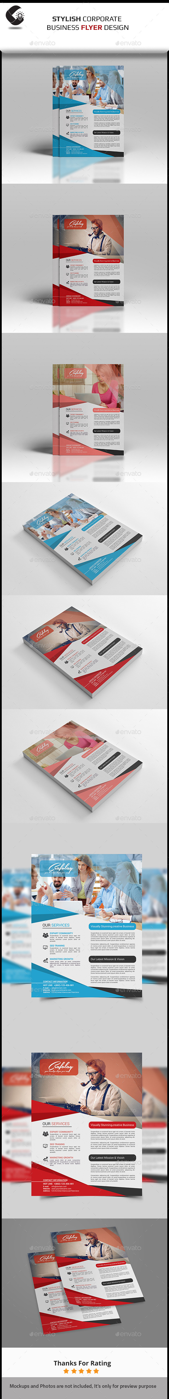 GraphicRiver Corporate Flyer- Multipurpose 11038391