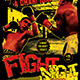 Fight Night / Boxing Club Flyer Poster Template - GraphicRiver Item for Sale