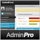 Admin Control Panel Pro - Simple & Professional - ThemeForest Item for Sale