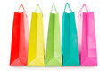 Colorful shopping bags in paper - PhotoDune Item for Sale