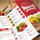Clean Food Menu - GraphicRiver Item for Sale
