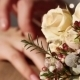 Hands Next To Wedding Bouquet - VideoHive Item for Sale