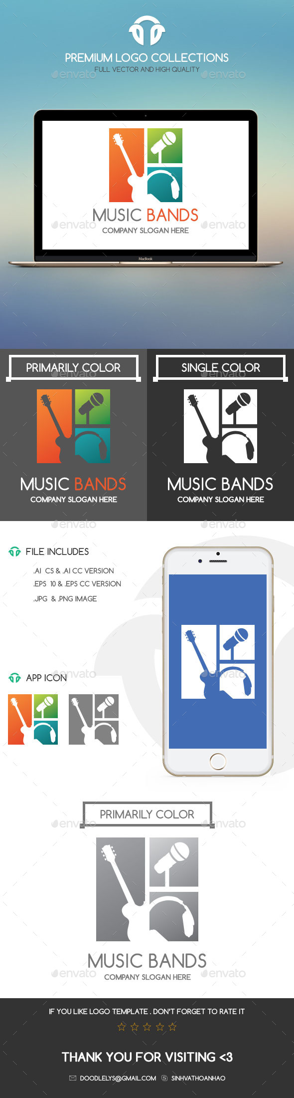 GraphicRiver Music Bands 11038839