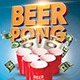 Beer Pong Event Flyer - GraphicRiver Item for Sale