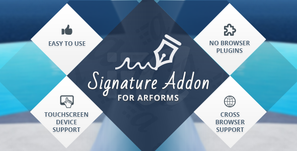 CodeCanyon Signature Addon for Arforms 11038990