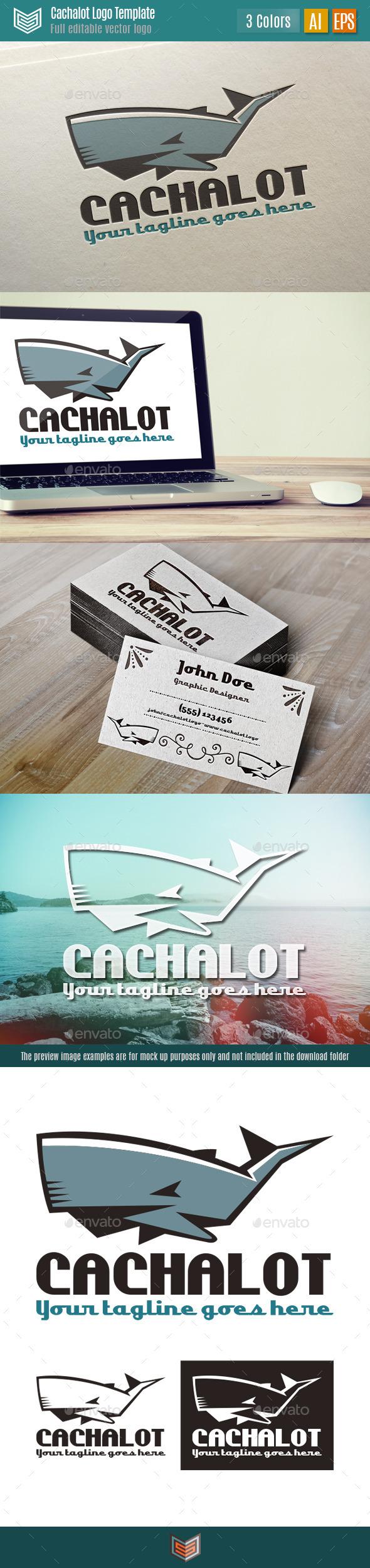 GraphicRiver Cachalot Logo 11039168